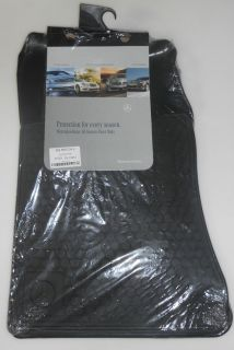 TO 2002 Mercedes SL 129 Rubber Floor Mats REAL FACTORY OEM ACCESSORIES