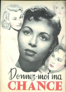 Michèle Mercier Danik Patisson Nadine Tallier DP Donnez Moi MA Chance
