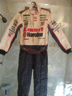 Formula 1 Racing Suit Michael Andretti Signed