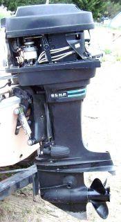 85 Horsepower Mercury Outboard Boat Motor