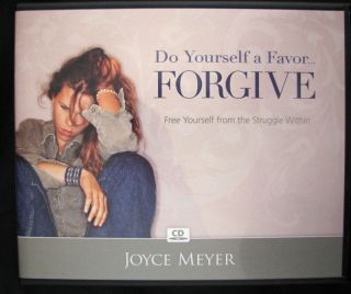 Do Yourself A Favor Forgive 4 CD by Joyce Meyer