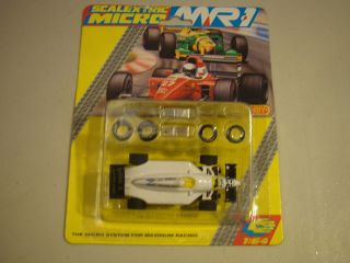 Scalextric Micro MR1 Tyco Aurora HO Scale Slot Car Beta 23 Agip