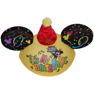 New Mickey Mouse Ears Happy Birthday Hat