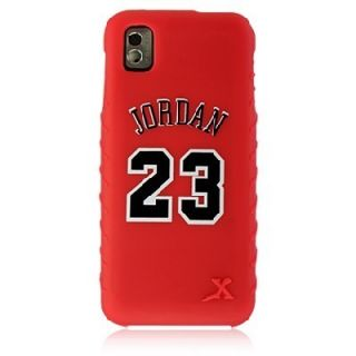 M800 Red Michael Jordan 23 Chicago Bulls Jersey Gel Cover Case