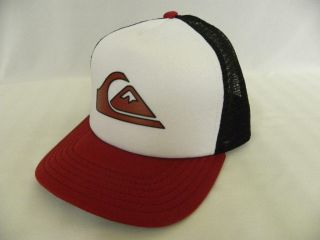 Quiksilver Boys Mesh Ball Cap Hard Tmes Adjustable