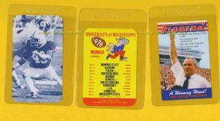 1985 Penn State Football Schedule w Michael Zordich SR