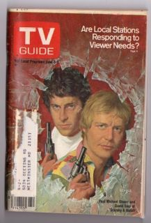 Magazine June 3 1978 Starsky and Hutch David Soul Paul Michael Glaser