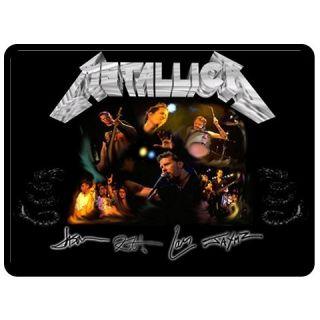 New Metallica Fleece Throw Blanket Extra Large 60X80