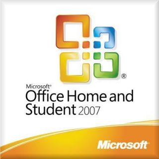 Microsoft Office Home and Student 2007 Full Version 3PC Guaranteed