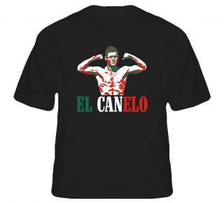 Saul El Canelo Alvarez Mexican Boxing T Shirt
