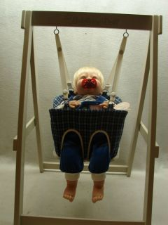 Lee Middleton Doll with Swing