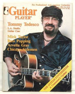 Guitar Player Magazine Tommy Tedesco Mick Taylor Arvella Gray