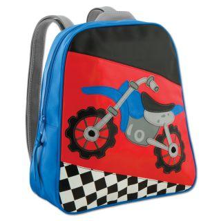 Stephen Joseph Boys Motocross Dirt Bike Racing motorbike Backpack New