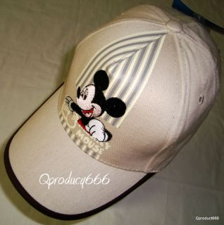 Mickey Mouse Baseball Cap Hat Adjustable Free Sz