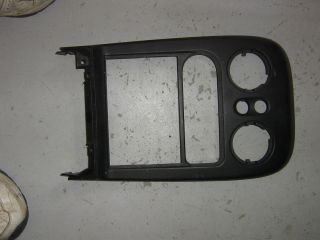 94 95 96 97 Miata Radio HVAC Trim Panel Bezel