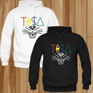 New Hoodie Tisa TI$A Snapback Black White T Shirt Size s 2XL 2