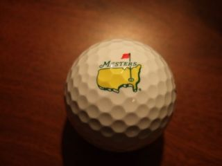Masters Logo Golf Ball Titleist NXT Phil Mickelson