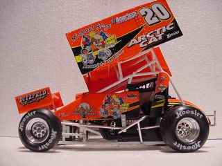 Arctic Cat 20 World of Outlaws Sprint Car Racing Michael Ross