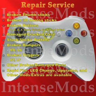 Microsoft Xbox 360 Wireless Controller Repair Service