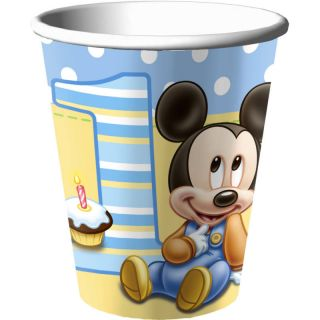 Disney Babies Mickey Mouse 1st Birthday Party Cups