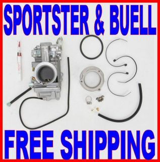 Mikuni Carburator Carb Easy Kit Harley Sportster 42 11