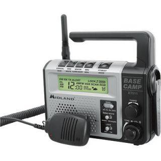 Midland Base Camp GMRS Radio w Microphone XT511