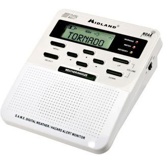 Midland Weather Alert Radio Model WR 100