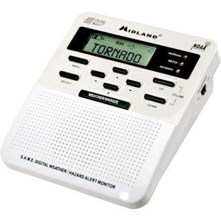 Midland Weather Alert Radio Model WR 100