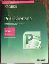 Microsoft Publisher Office 2010 Full Version AE Edition Retail Box
