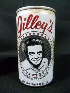 Vintage Mickey Gilleys Beer Can RARE Aluminum Spoetzl Brewery Shiner