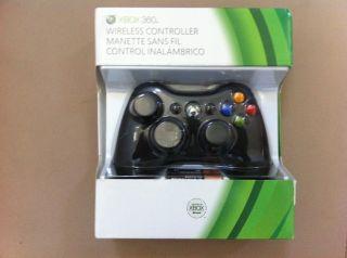Microsoft Black Wireless Xbox 360 Controller