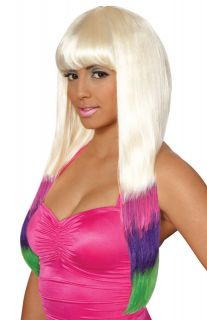 Nicki Minaj Carnival Costume Wig Multi Color