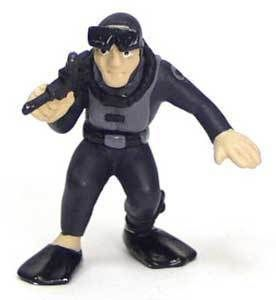 32 Scale Military Army Man Commando Figure Frogman Cake Topper
