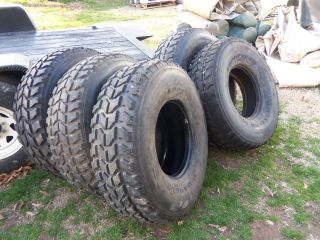 Military Surplus Truck Tires HMMWV M998 37x12 50 16 5 Lt Goodyear