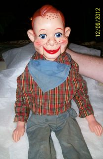 Vintage Howdy Doody Ventriloquist Doll w Moving Mouth