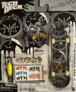 Tech Deck ATM Skateboards Owl Logo Fingerboard New