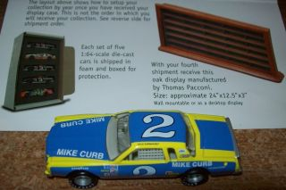 Dale Earnhardt SR 2 Mike Curb 1 64 Action 30 Years of Champions