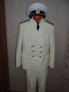 USSR Army Military Uniform Soviet Navy Marine Aviation Colonel 198X