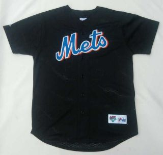 Mike Piazza 31 New York Mets Jersey Mens Medium M MLB Baseball