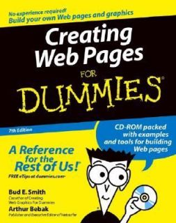 Creating Web Pages for Dummies by Arthur Bebak and Bud E. Smith 2004