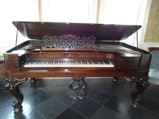 Piano 1872 Original Square Grand Steinway Piano