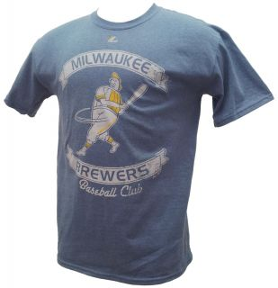 Milwaukee Brewers Legendary Victory Shirt Retro Barrel Man Design