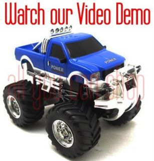 43 Mini RC Radio Remote Control Pickup Monster Truck 9101 1 2008B1