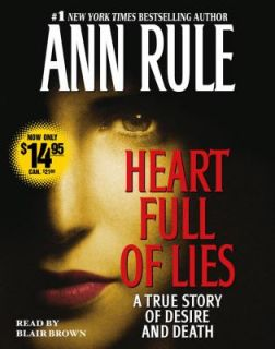 True Story of Desire and Death by Ann Rule 2006, CD, Abridged
