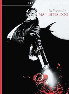 Man Bites Dog DVD, 2002, Criterion Collection Contains Additional