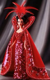 Bob Mackie Queen of Hearts 1994 Barbie Doll