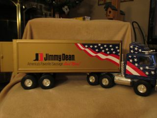 Promo Jimmy Dean Semi Tractor Trailer