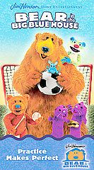 Bear in the Big Blue House   Practice Makes Perfect VHS, 2003