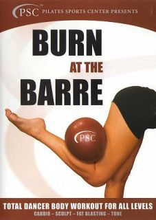 Burn at the Barre Total Dancer Body Workout for All Levels (DVD, 2012