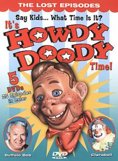Its Howdy Doody Time DVD, 2004, 5 Disc Set